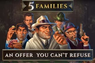 Comment jouer à la machine à sous 5 Families sur 777.be ?