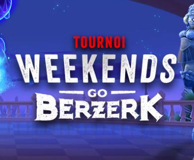 Deuxième édition de Weekends Go Berzerk sur 777.be !