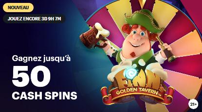 Gagnez jusqu'à 50 cash spins sur Napoleongames.be !