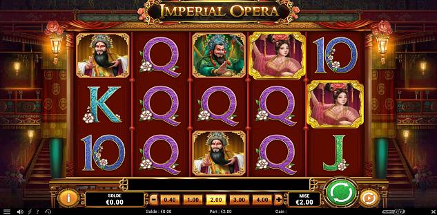 Imperial Opera : De fabuleux gains à remporter sur 777.be