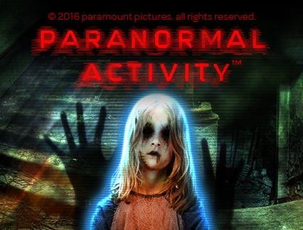 Paranormal Activity  - L'opérateur de jeux 777.be présente une machine à sous