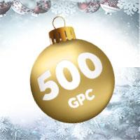 Les célébrations de fin d'année continuent sur Goldenpalace.be !