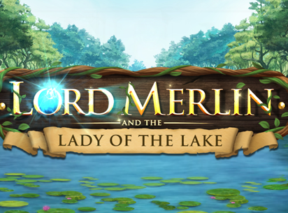 Lord Merlin and the Lady of the Lake sur Casino7777.be