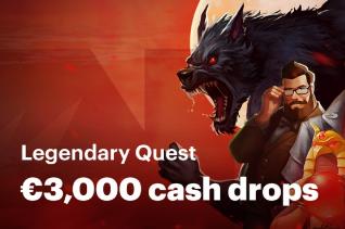 Promo Legendary Quest avec cash drops sur Napoleongames.be