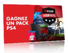 PS4 à gagner : Tournois hebdomadaires d'Octobre sur Circus.be