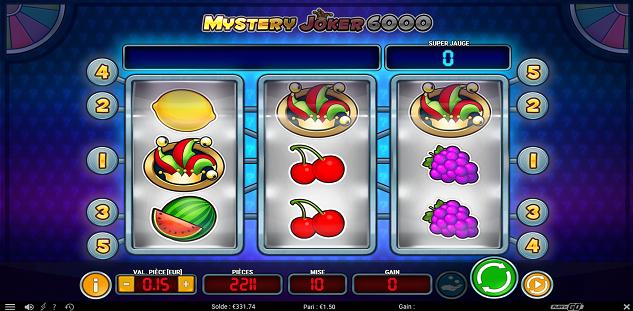 Remportez jusqu'à 6 000 pièces sur 777.be avec Mystery Joker 6000