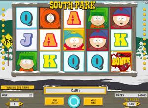 Machine à sous South Park gratuit dans NetEnt casino